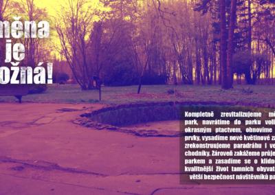 park revitalizace